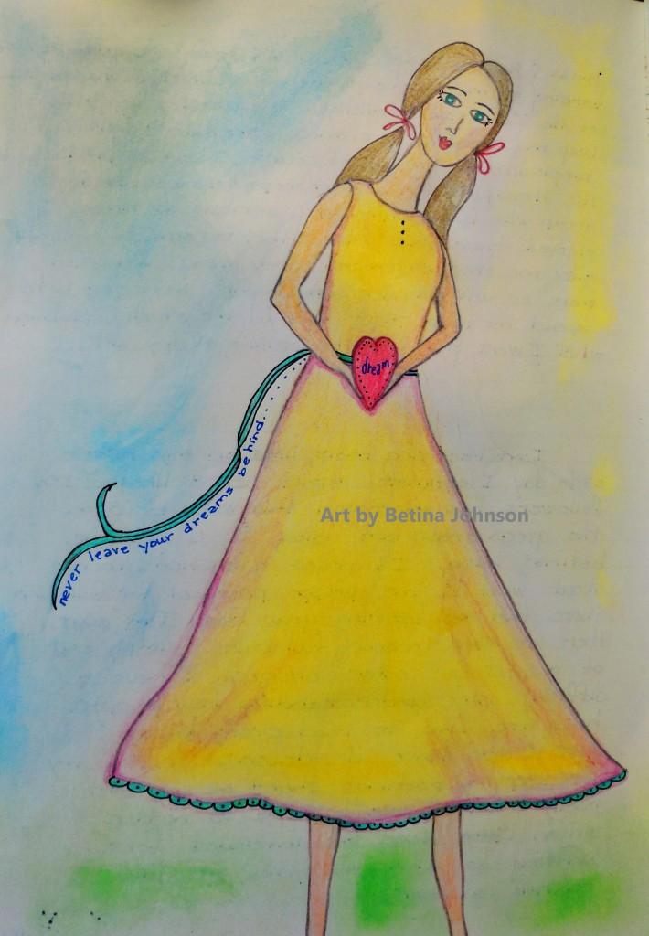 copy girl dream heart